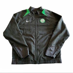 Nike Celtic Football Club Gray Zip Up Jacket M